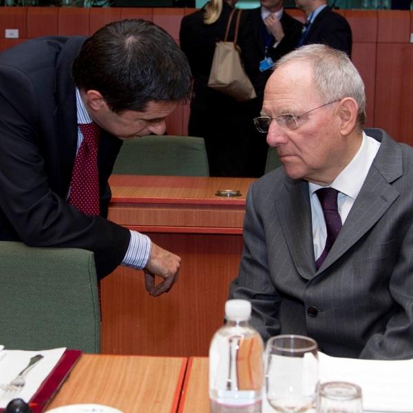 Wolfgang Schäuble Vítor Gaspar