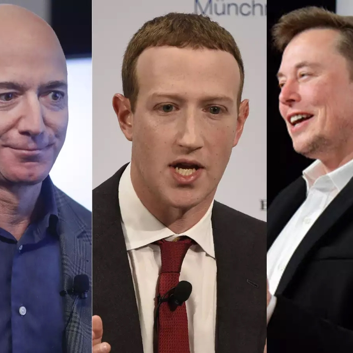 Times of India Bezos, Zuckerberg and Musk