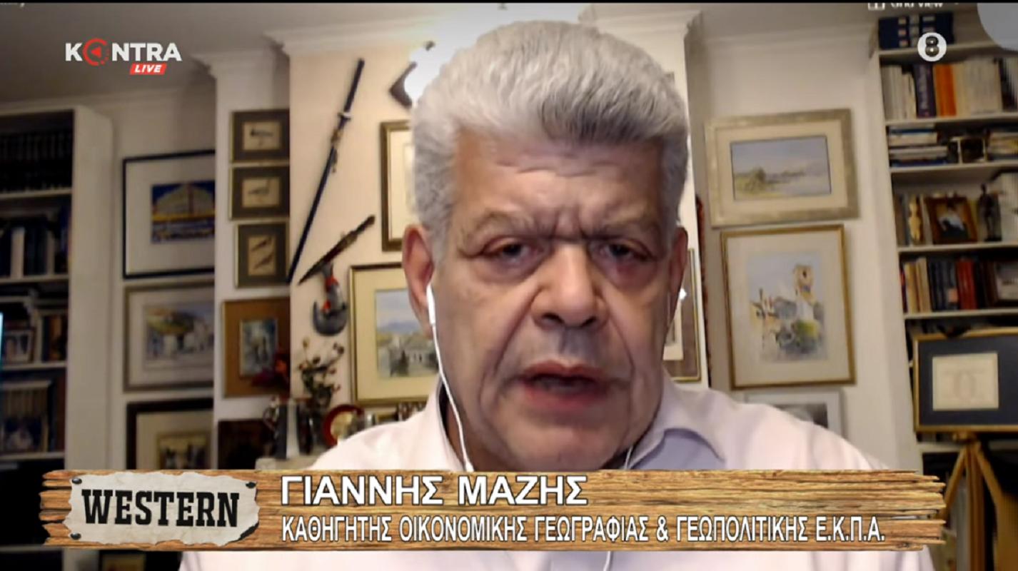 """Γιάννης Μάζης: """"Έχει δίκιο ο τέως Πρόεδρος της Δημοκρατίας Παυλόπουλος"""" (Βίντεο)"""