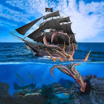 pirate-ship-vs-the-giant-squid-glenn-holbrook