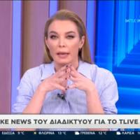 Η Τατιάνα Στεφανίδου για Δημήτρη Λιγνάδη και fake news: «Θα λογοδοτήσετε για τα παραμύθια σας»