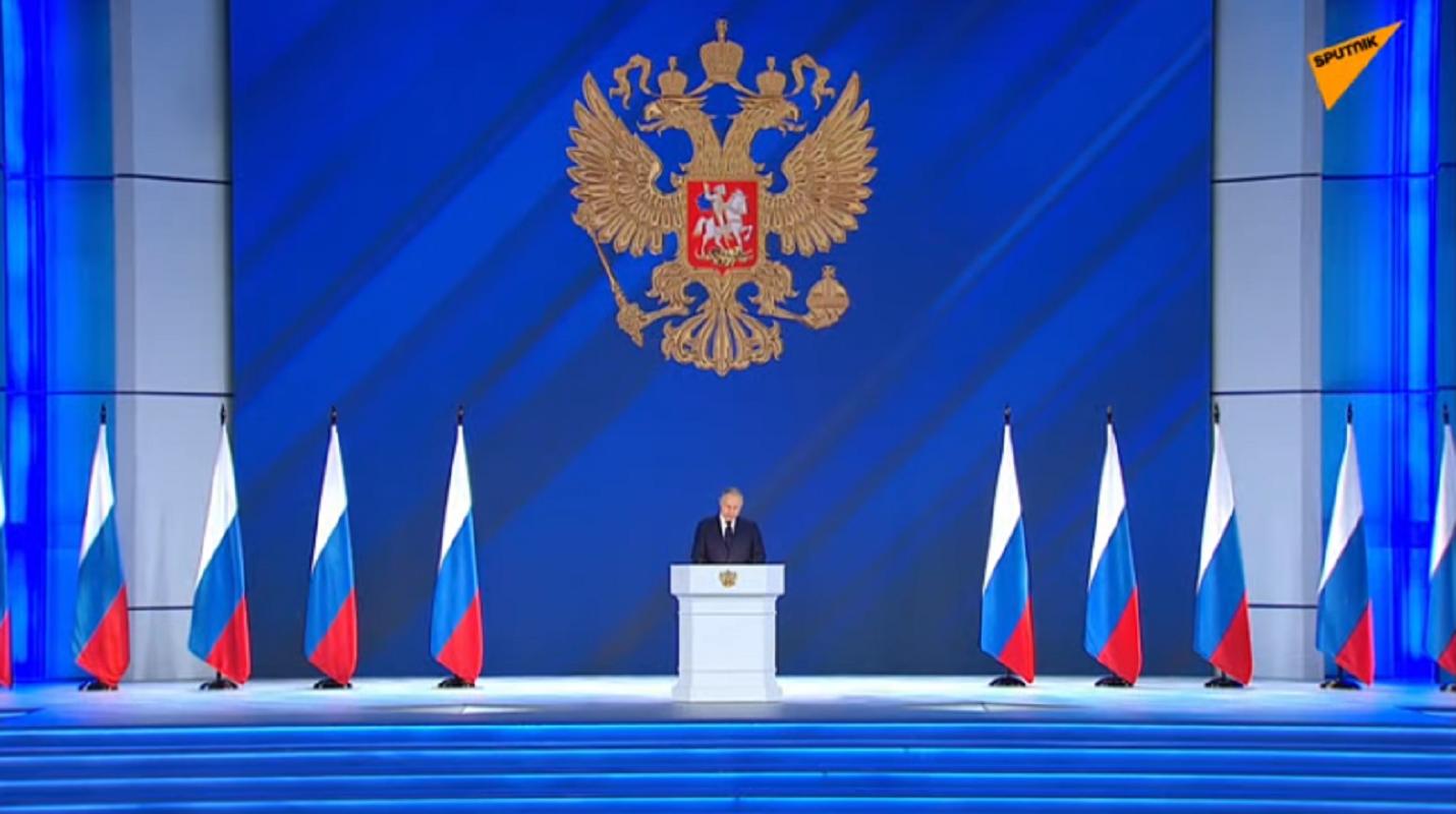 """Ομιλία Πούτιν LIVE: """"Ρωσικά εμβόλια σε 4 μέρες στο μέλλον – Στο 88% η «Πυρηνική Τριάδα» – Αν η Δύση αρνηθεί τον διάλογο τότε.."""" (Βίντεο)"""