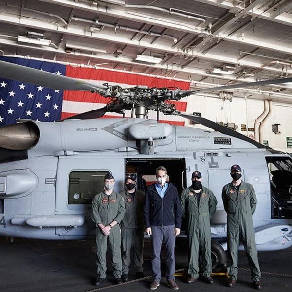 ΚΥΡΙΑΚΟΣ ΜΗΤΣΟΤΑΚΗΣ ΕΛΙΚΟΠΤΕΡΑ MH-60R SEAHAWK ROMEO