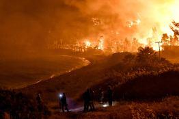 Φωτιά Τώρα Σχίνος Κορινθία Βυθούλας Μέγαρα Αλεποχώρι (2)