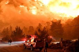Φωτιά Τώρα Σχίνος Κορινθία Βυθούλας Μέγαρα Αλεποχώρι (11)