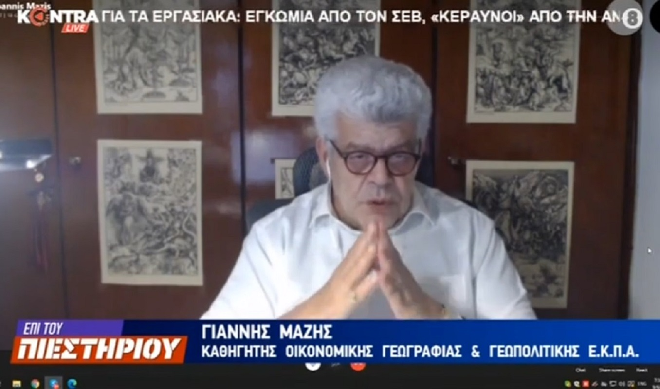 Ιωάννης Μάζης: Αν δεν ήταν πρόεδρος ο Ερντογάν θα ήταν Μπαλαρίνα (Βίντεο)
