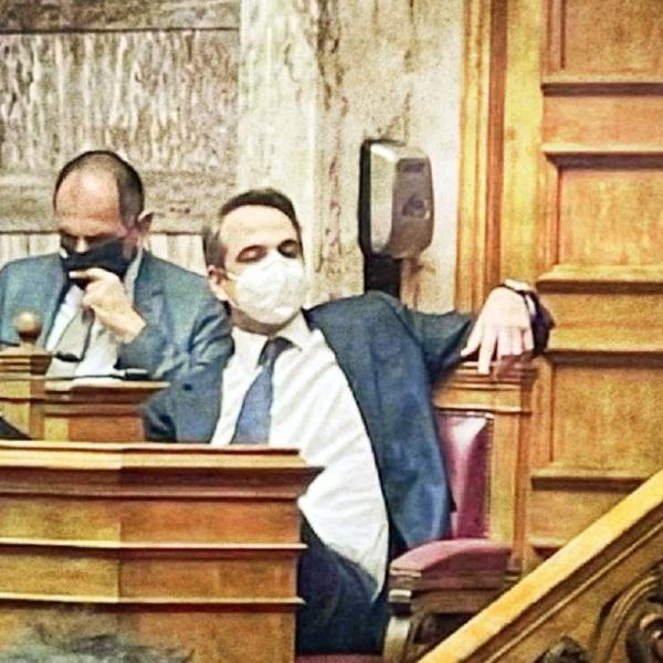 Γιώργος Γεραπετρίτης - Κυριάκος Μητσοτάκης