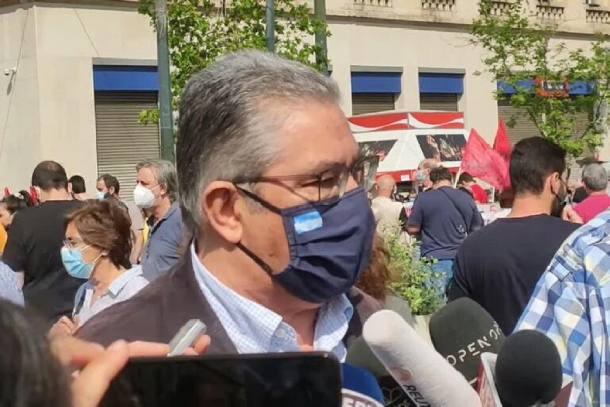 Απεργία σήμερα: «Το νομοσχέδιο αυτό είναι καταδικασμένο στη συνείδηση των εργαζομένων», δήλωσε ο Δημήτρης Κουτσούμπας (Βίντεο)