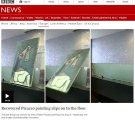 Πίνακας Πικάσο Διεθνής διασυρμός της Ελλάδας στο BBC - Γλεντάνε τον Χρυσοχοΐδη ΙΚΕΑ - ΠΛΑΙΣΙΟ - Zackret - Douleutaras