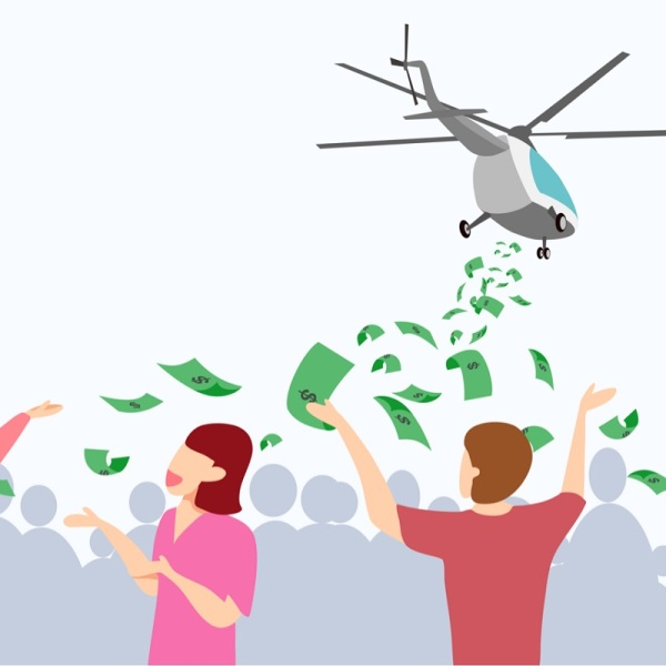 Helicopter-money-definition