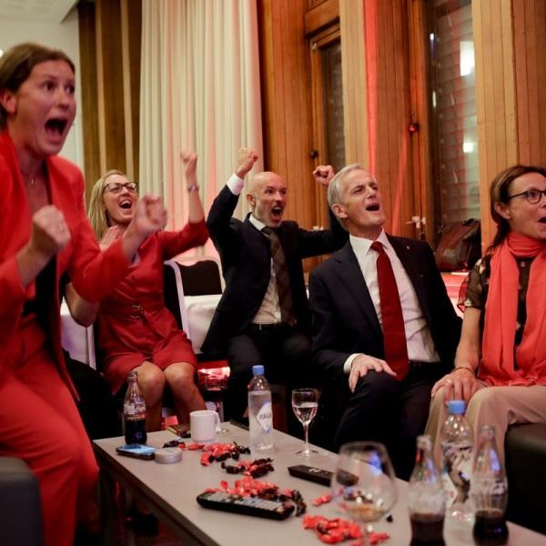 Κυβέρνηση αριστεράς στη Νορβηγία. Νικητές οι εργατικοί