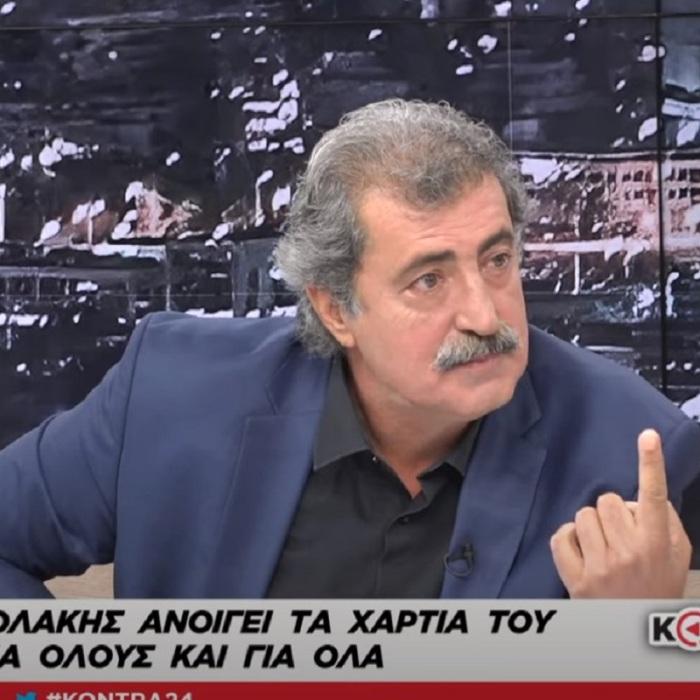 O Παύλος Πολάκης στο Kontra24 με την Αναστασία Γιάμαλη