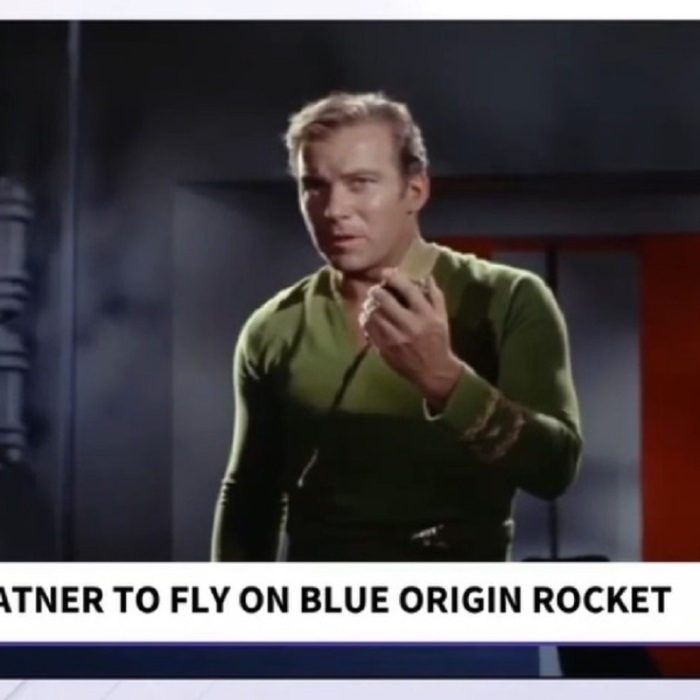 William Shatner Set To Fly On Blue Origin's Second Crewed Launch (Video)